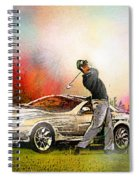 Golf In Gut Laerchehof Germany 03 Spiral Notebook