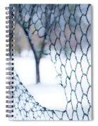 Golf Netting Spiral Notebook