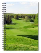 Golfer's Dream Spiral Notebook