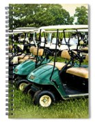 Golfers Take Your Pick Spiral Notebook