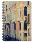 Gondola In Venice  Spiral Notebook