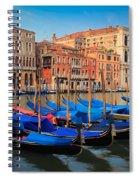 Gondola Row Spiral Notebook