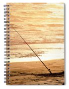 Gone Fishin' Instead Of Just A-wishin' Spiral Notebook