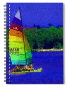 Gone For A Sail Spiral Notebook
