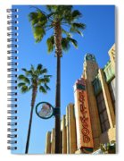 Gone Hollywood Christmas Spiral Notebook