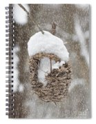 Gone South For The Winter Spiral Notebook
