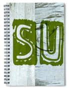 Gone Surfing Spiral Notebook