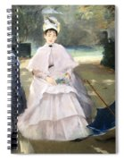 Gonzales' Nanny And Child Spiral Notebook