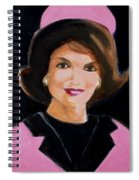 Good And Plenty Jackie O  Spiral Notebook