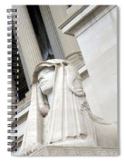 Good Day Sweetie -- A Friendly Sphinx Spiral Notebook