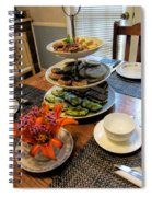 Good Eats In A Lovely Setting Spiral Notebook