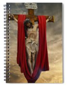 His Ultimate Gift Of Mercy - Jesus Christ Spiral Notebook