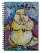 Good Luck Buddha Spiral Notebook