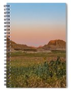 Good Morning Badlands II Spiral Notebook