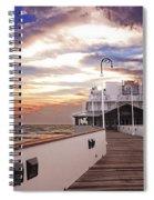 Good Morning Daytona Spiral Notebook