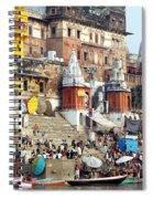 Good Morning Ganga Ji 2 Spiral Notebook