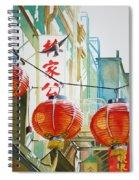 Good News In Chinatown Spiral Notebook