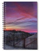 Good Night Cape Cod Spiral Notebook