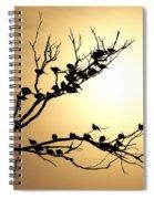 Good Nite Birds Spiral Notebook