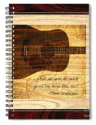 Good Ole Boys - Don Williams Spiral Notebook