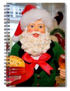 Good Time Santa Spiral Notebook