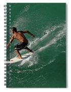 Good Waves Good Body Spiral Notebook