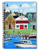Goodies By The Sea Spiral Notebook