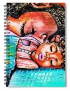Goodnight Kiss Spiral Notebook