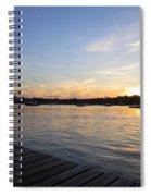 Goodnight Sun Spiral Notebook