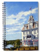 Goodspeed Opera House East Haddam Connecticut Spiral Notebook