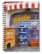 Goofy Water Disneyland Toontown Photo Art 02 Spiral Notebook