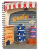Goofy Water Disneyland Toontown Spiral Notebook