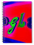 Google's Hallway Spiral Notebook