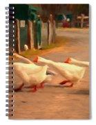 Goose Crossing Spiral Notebook