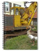 Goose Guard Spiral Notebook