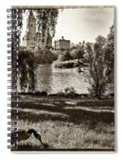 Goose In Central Park Nyc Spiral Notebook