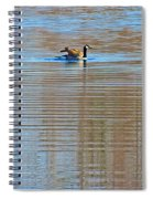 Goose Ripples Spiral Notebook