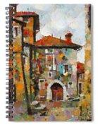 Gordes- Colorful Street Spiral Notebook