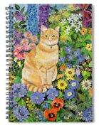 Gordon S Cat Spiral Notebook