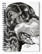 Gordon Setter Spiral Notebook
