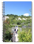 Gorgeous Day At The Bluffs Spiral Notebook