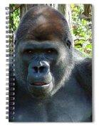 Gorilla Headshot Spiral Notebook