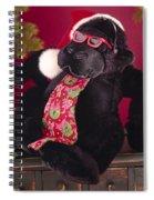 Gorilla With Shades-faa Spiral Notebook