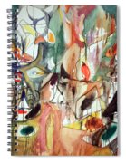 Gorky's One Year The Milkweed Spiral Notebook