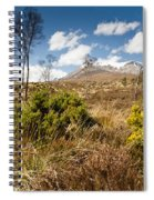 Gorse Bush On Mountain Approach Spiral Notebook