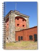 Gothenburg Fortress 06 Spiral Notebook