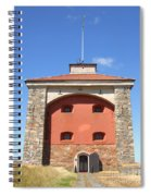 Gothenburg Fortress 07 Spiral Notebook