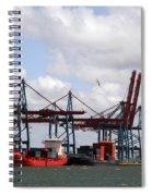 Gothenburg Harbour 07 Spiral Notebook