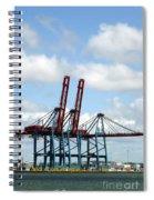 Gothenburg Harbour 08 Spiral Notebook