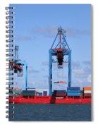 Gothenburg Harbour 09 Spiral Notebook